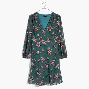 NWOT Madewell Marguerite dress in Butterfly Garden